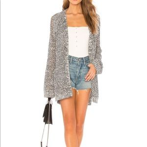 Gorgeous boho Splendid Chiapas cardigan in navy ca